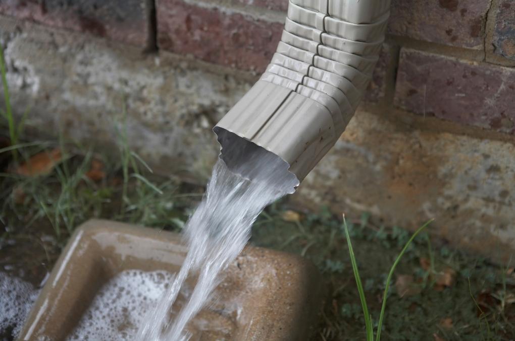 rain-gutter